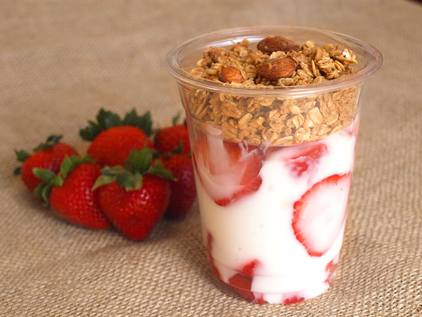 Fresh Fruit & Yogurt Parfait
